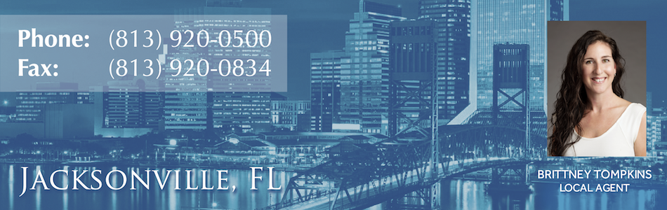 Jacksonville Location header banner